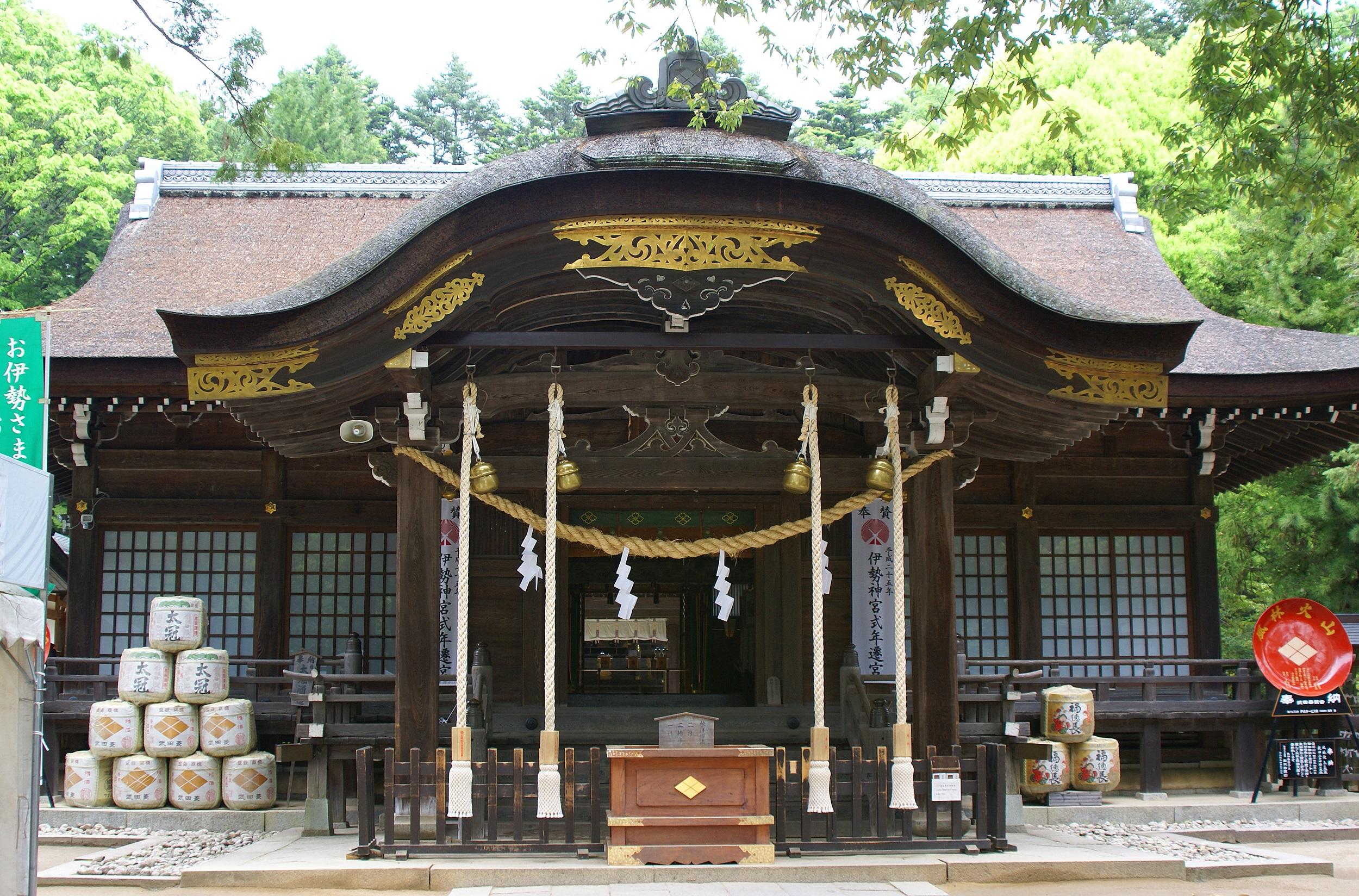 山梨武田神社