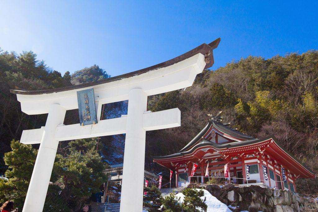 山梨夫婦木神社