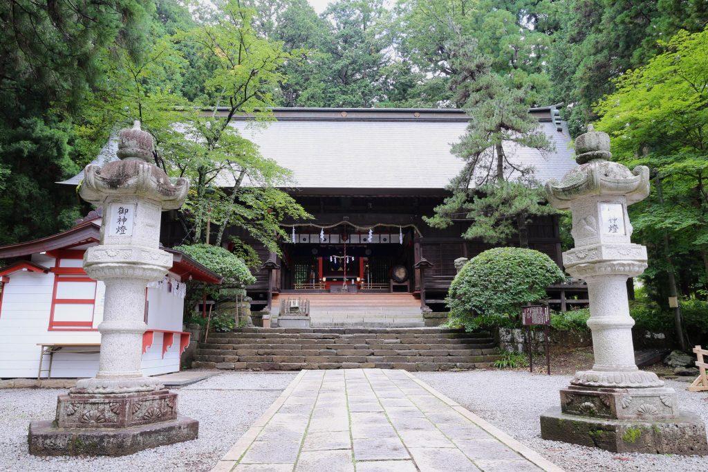 山梨河口浅間神社