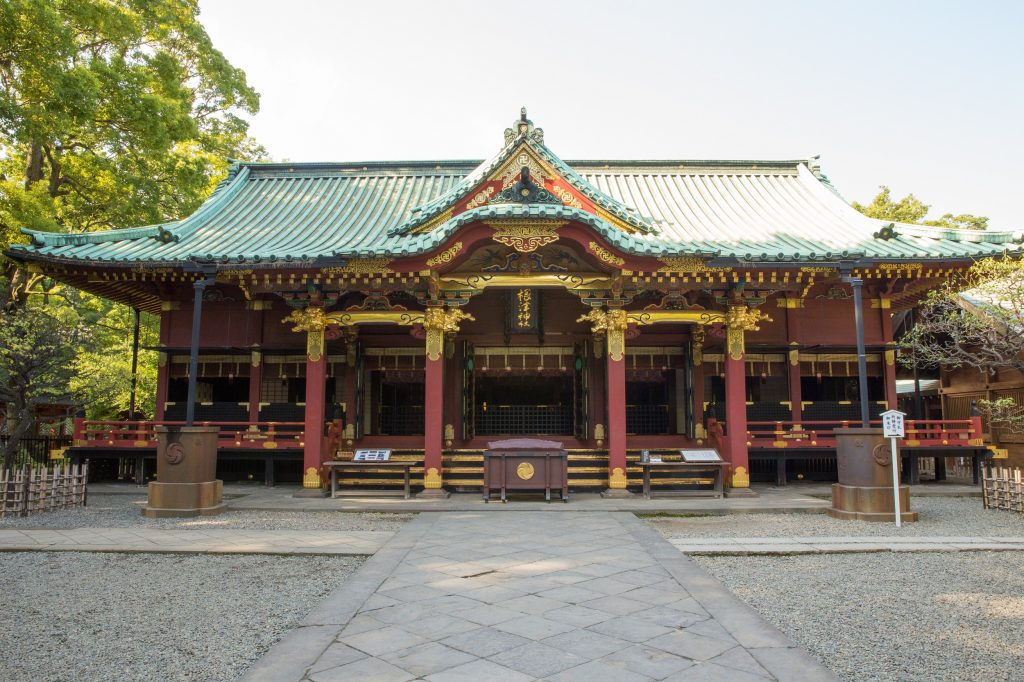 東京根津神社