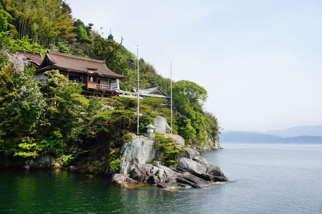 滋賀竹生島