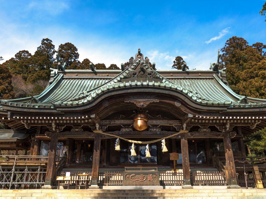 茨城筑波山神社