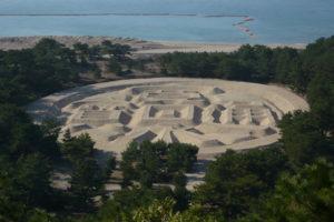 香川県銭形砂絵